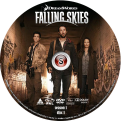 Falling Skies Cover DVD disc 1