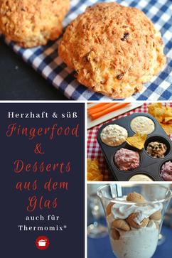 Herzhaft & süß #Fingerfood #fingerfoodrezepteschnell #Desserts aus dem Glas