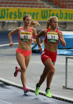 Julia Mayer Staatsmeisterschaften Linz 5000m Staatsmeisterin