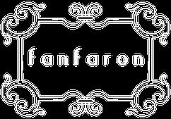 fanfaron foulard en soie, carré en soie, twill de soie, foulard made in france, logo