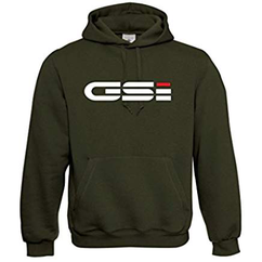 Army oliv Opel GSI Hoodie Pullover