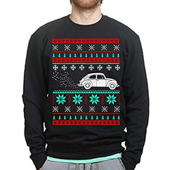 VW Käfer Fan Tuning Christmas Pullover