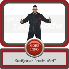 Kochjacke rock chef