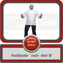 Kochjacke rocket chef