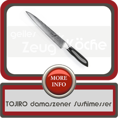 TOJIRO Flash damaszener Sushimesser
