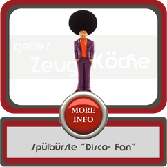 "Spülbürste ""Disco- Fan"""
