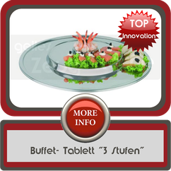 "Buffet- Tablett ""3 Stufen"""