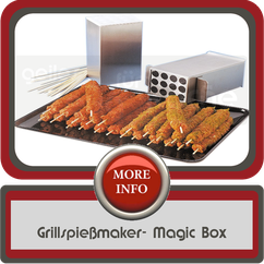 Grillspießmaker Magic Box