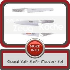 Global 3er Messer Set