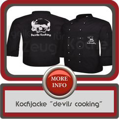 kochjacke devils cooking