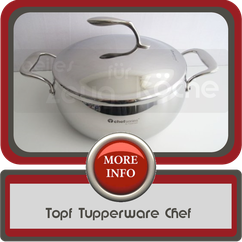 Topf Tupperware Chef