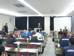 京都府高速道路交通安全連絡協議会による春季交通安全講習会