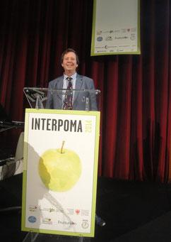 Dr. Michael Blanke aus Bonn referierte über die Auswirkungen der Klimaveränderungen auf den Obstbau