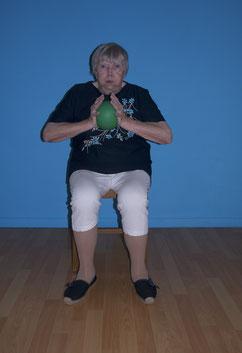 Renforcement musculaire sur chaise