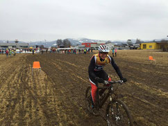 Michael Schädler auf der Bike-Strecke  (Foto: Kerry McGawley)