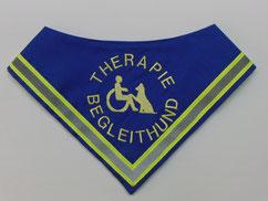 Therapie Begleithund Kenndecke / Halstuch,halsduk terapihund