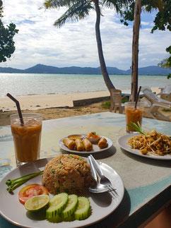 At the Beach Bar & Restaurant Phuket