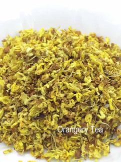 乾燥させてオスマンサス(キンモクセイ)の花 ふわり甘い香り