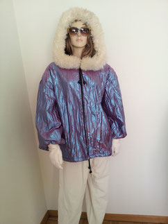 Warmes Winter-Kostüm.Jacke gefüttert mit Kautze + Hose,,Gr.M/L, Fr.29.-
