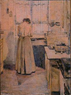 Küchenarbeit - 1909