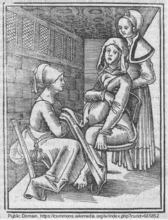 Eucharius Rößlin Rosgarten Geburt