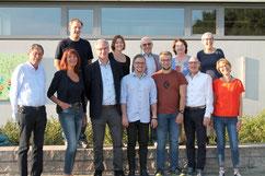 """Foto: Anke Buchmüller  """"Der Vorstand des Fördervereins G6 hat gut lachen. Junge Leute rücken nach."""""""