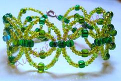 Bracelet : perles de rocailles