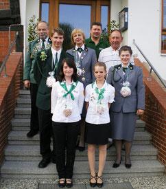 SV Oesslese, Majestäten 2008