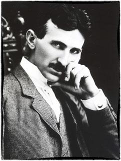 Nikola Tesla in famoso ritratto