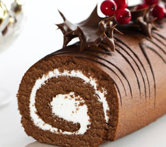 It's chocolate log to most of us these days, but it's based on a pagan tradition
