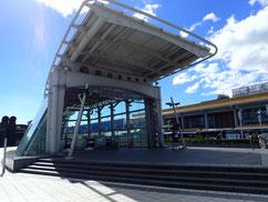 MTR松山機場駅入り口