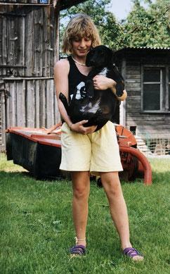 Meine erste Dackelliebe: Diana 1991