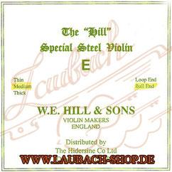 Hill E -Saite - Saiten für Violine