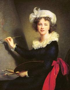 Elisabeth Louise Vigée Le Brun, Selbstbildnis © Wikipedia