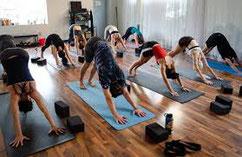 Cours de Yoga en salle par Murielle LEROY
