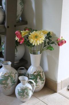 Passende Vasen für unsere Blumen - Lichter am Porzellanhimmel