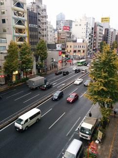 第一京浜と大門交差点