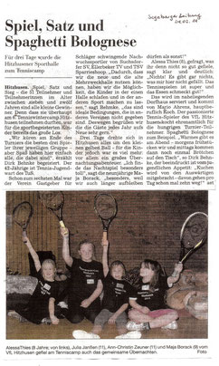 Segeberger Zeitung, 24. Februar 2014