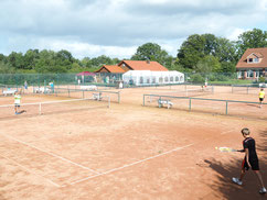 Tennisanlage des V.f.L. Hitzhusen