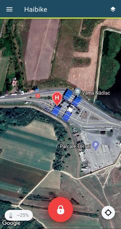 BikeTrax - Diebstahl an der Grenze gestoppt