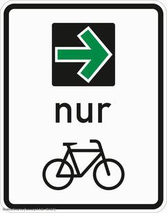 Kommunen können extra Grünpfeile für Radfahrer einführen