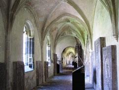 Regensburg, Kreuzgang im Dom St. Peter