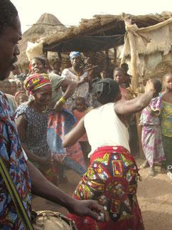 Solifest in Babila (Hamana, Guinea)