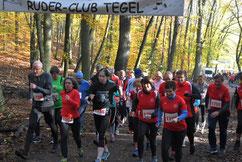 Start 5,1 km Walking Vierter v.l. H. Niehoff (SSC)