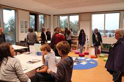 ÖLI-UG besucht das neue Schulzentrum am See in Hard - ein Erfolgsmodell  Bild: Gerhard Rüdisser