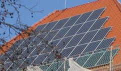 Neues Solardach Oberschule