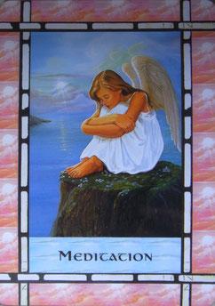 Kartenquelle: Das Heilorakel der Engel von Doreen Virtue