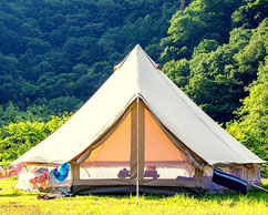 location tente bivouac Ardèche descente en canoë en plusieurs jours