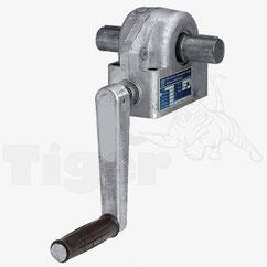 Schneckengetriebe - Handbetrieb