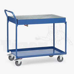 Fass-Tischwagen mit Auffangwanne